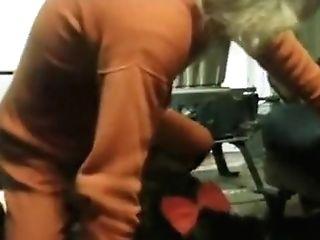Lovely Chubby Fellow Got Suck In The Barn