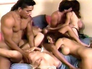 Antique 90's Interracial Hump Pile