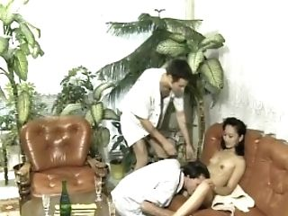 Getting Fucked From Both Finishes - Julia Reaves