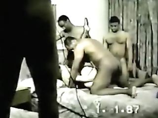Greatest Homemade Stockings, Interracial Porno Scene