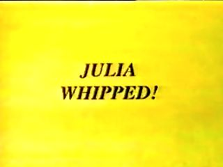 Julia Jameson's Very First Whipping