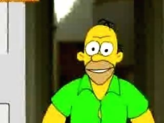 The Simpsons,marge Gets Banged By Delivery Boy And Homer (brief But Jokey).