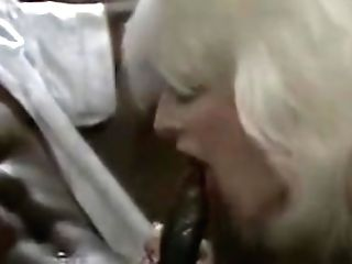 Blonds Sucking Black Man-meat